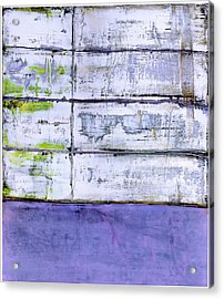 Acrylic Print featuring the painting Art Print Abstract 70 by Harry Gruenert