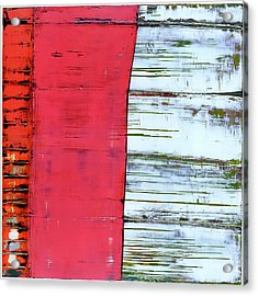 Acrylic Print featuring the painting Art Print Abstract 75 by Harry Gruenert