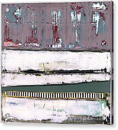 Acrylic Print featuring the painting Art Print Abstract 86 by Harry Gruenert
