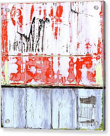 Acrylic Print featuring the painting Art Print Abstract 91 by Harry Gruenert