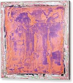 Acrylic Print featuring the painting Art Print California 09 by Harry Gruenert