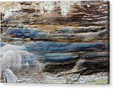 Acrylic Print featuring the photograph Art Print Cliff 1 by Harry Gruenert