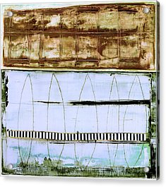Acrylic Print featuring the painting Art Print Malibu by Harry Gruenert