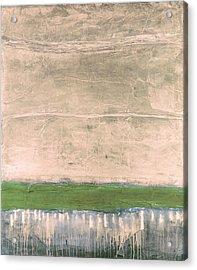 Acrylic Print featuring the painting Art Print Nez Perce by Harry Gruenert