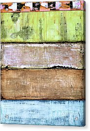 Acrylic Print featuring the painting Art Print Sierra 4 by Harry Gruenert