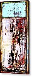 Acrylic Print featuring the painting Art Print Sierra 9 by Harry Gruenert