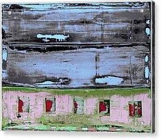 Acrylic Print featuring the painting Art Print Sierra 7 by Harry Gruenert