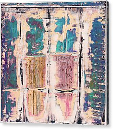 Acrylic Print featuring the painting Art Print Square 8 by Harry Gruenert