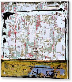 Acrylic Print featuring the painting Art Print Square 9 by Harry Gruenert