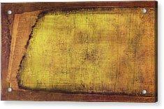 Acrylic Print featuring the painting Art Print Terra by Harry Gruenert
