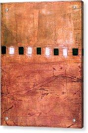 Acrylic Print featuring the painting Art Print U10 by Harry Gruenert