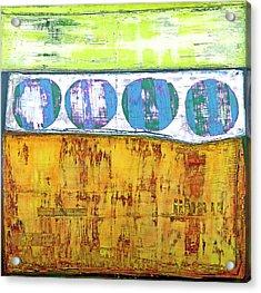 Acrylic Print featuring the painting Art Print Venice by Harry Gruenert