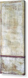 Acrylic Print featuring the painting Art Print Whitewall 1 by Harry Gruenert