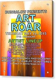 Art Roar May 2015 Acrylic Print