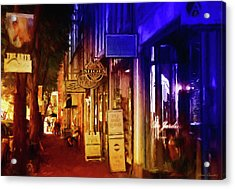 Art Row - Fredericksburg, Virginia Acrylic Print by Glenn Gemmell