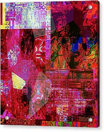 Art Session - Things Unseen Acrylic Print by Fania Simon