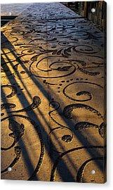 Art Walk Acrylic Print