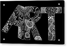 Art Within Art Acrylic Print by Samantha Thome