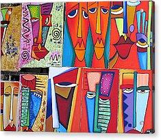 Arte De Cuba Acrylic Print