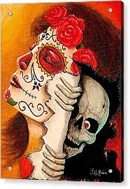 Arte De Los Muertos Y Sustos Acrylic Print