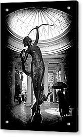 Acrylic Print featuring the photograph Artemis At Huntington Library by Lori Seaman