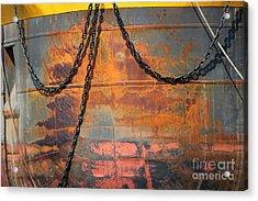 Artful Rust Acrylic Print