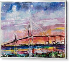 Arthur Ravenel Jr Bridge Charleston Acrylic Print