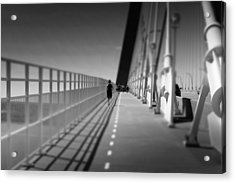 Arthur Ravenel Jr Bridge Runner Acrylic Print