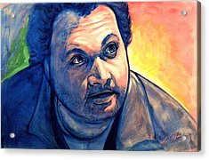 Artie Acrylic Print by Erik Schutzman