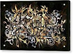 Artifacts Acrylic Print