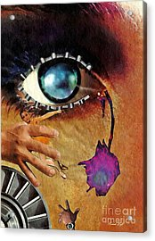 Artificial Tears Acrylic Print