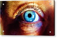 Artist Eye View Acrylic Print