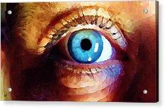 Artist Eye View Acrylic Print