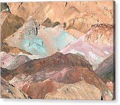 Artist Palette Acrylic Print by William Thomas