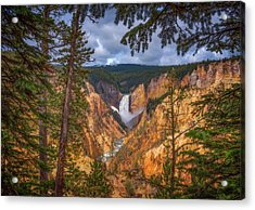 Artist Point Afternoon Acrylic Print by Darren White