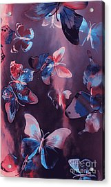 Artistic Colorful Butterfly Design Acrylic Print by Jorgo Photography - Wall Art Gallery