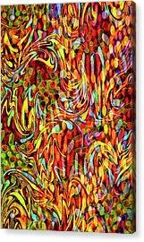Artistic Flair Acrylic Print