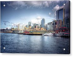 Artistic In Seattle Acrylic Print by Spencer McDonald
