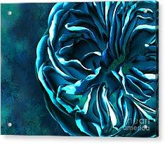 Artistique Rose Blue Acrylic Print