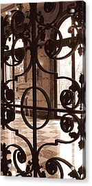 Artist's Easel Acrylic Print by Colleen Kammerer