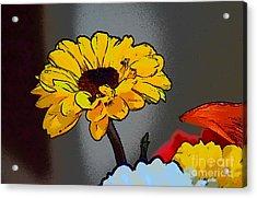 Artsy Sunshine Acrylic Print