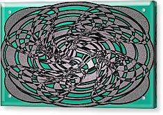 Artwork 116 Acrylic Print by Evelyn Patrick