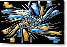 Artwork112 Acrylic Print by Evelyn Patrick