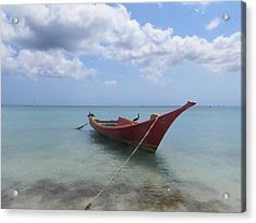 Aruba Acrylic Print by Jean Marie Maggi