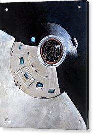 As-503 Apollo 8 Acrylic Print by Simon Kregar