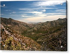Acrylic Print featuring the photograph As Far As The Eye Can See by Joe Kozlowski