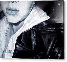 As She Passes You By Acrylic Print by Shana Rowe Jackson