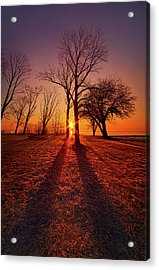 Acrylic Print featuring the photograph As Sure As The Sun Will Rise by Phil Koch
