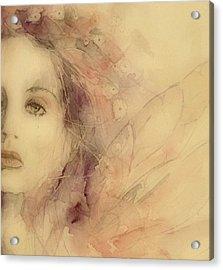 As Tears Go By Acrylic Print