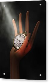 As Time Goes By Acrylic Print by Tom Mc Nemar